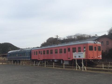 【浜松】キハ20-443とナハネ20-347 天竜二俣駅
