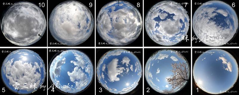 雲量見本 : 雲三昧 -雲と空の記録と独り言-
