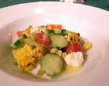 焼きとうもろこした野菜のサラダ仕立て