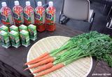 「朱衣」と野菜ジュース