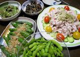 野菜自給率100%の食卓