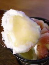 柚子プリン部分