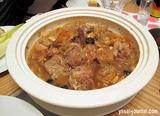 チキンとアプリコットのタジン煮 モロッコ風