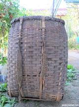 蚕のしょい籠