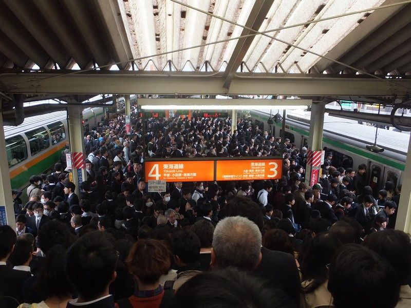 「東海道線 混雑」の画像検索結果