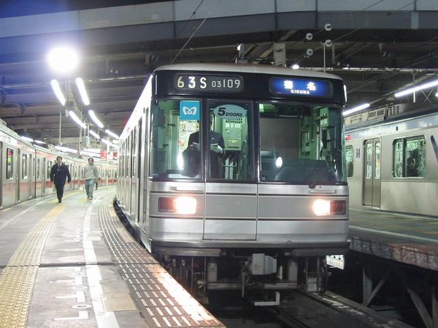 渋谷駅に日比谷線03系!! : always ─永遠を駆け抜ける一瞬の僕ら─