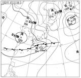 12061215速報天気図