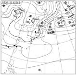 12110912速報天気図