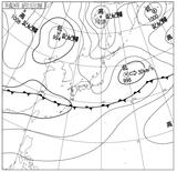 12061112速報天気図