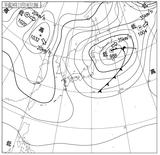 12111412速報天気図