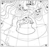 13031706速報天気図