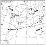 12061412速報天気図