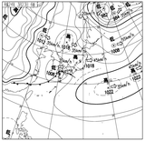 12032306速報天気図