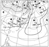 12031706速報天気図