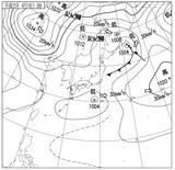 13041803速報天気図