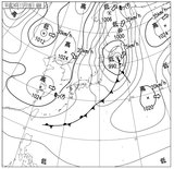 12111806速報天気図