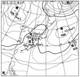 11021709速報天気図