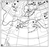 12030112速報天気図