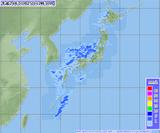 201201251230-00レーダーアメダス合成図