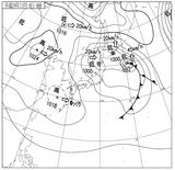 12110806速報天気図