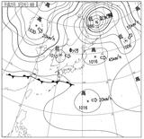 13032406速報天気図