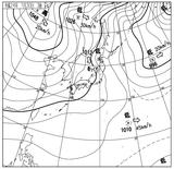 12013003速報天気図