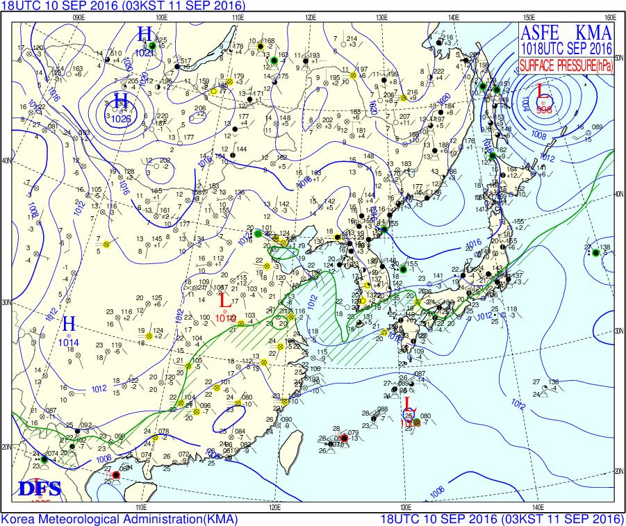 K.ARIMORIのお天気日誌夏は終わり秋雨本格化。伊豆諸島で大雨警戒