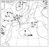 12063003速報天気図