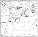 12111006速報天気図