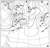 12111106速報天気図