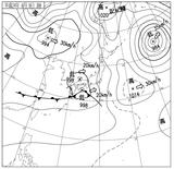12060903速報天気図