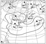 12032815速報天気図