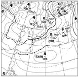 12030306速報天気図