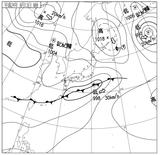 12061306速報天気図