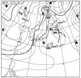 12012312速報天気図