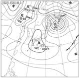 13042806速報天気図