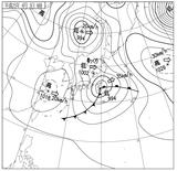 13040306速報天気図
