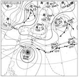 14101115速報天気図