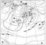 12110209速報天気図