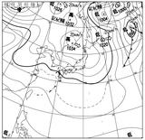 12030406速報天気図