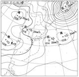 13030406速報天気図