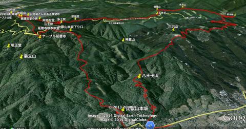 比叡山3Dルート