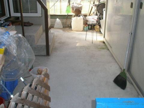 裏口の段差解消工事イメージ