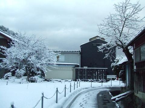 雪のある季節