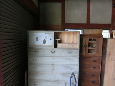 古家具に古建具イメージ