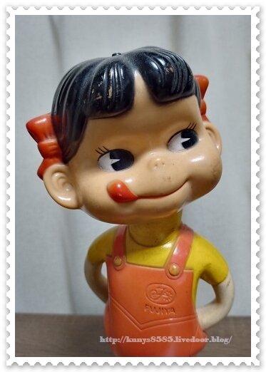 ぺこちゃん人形②
