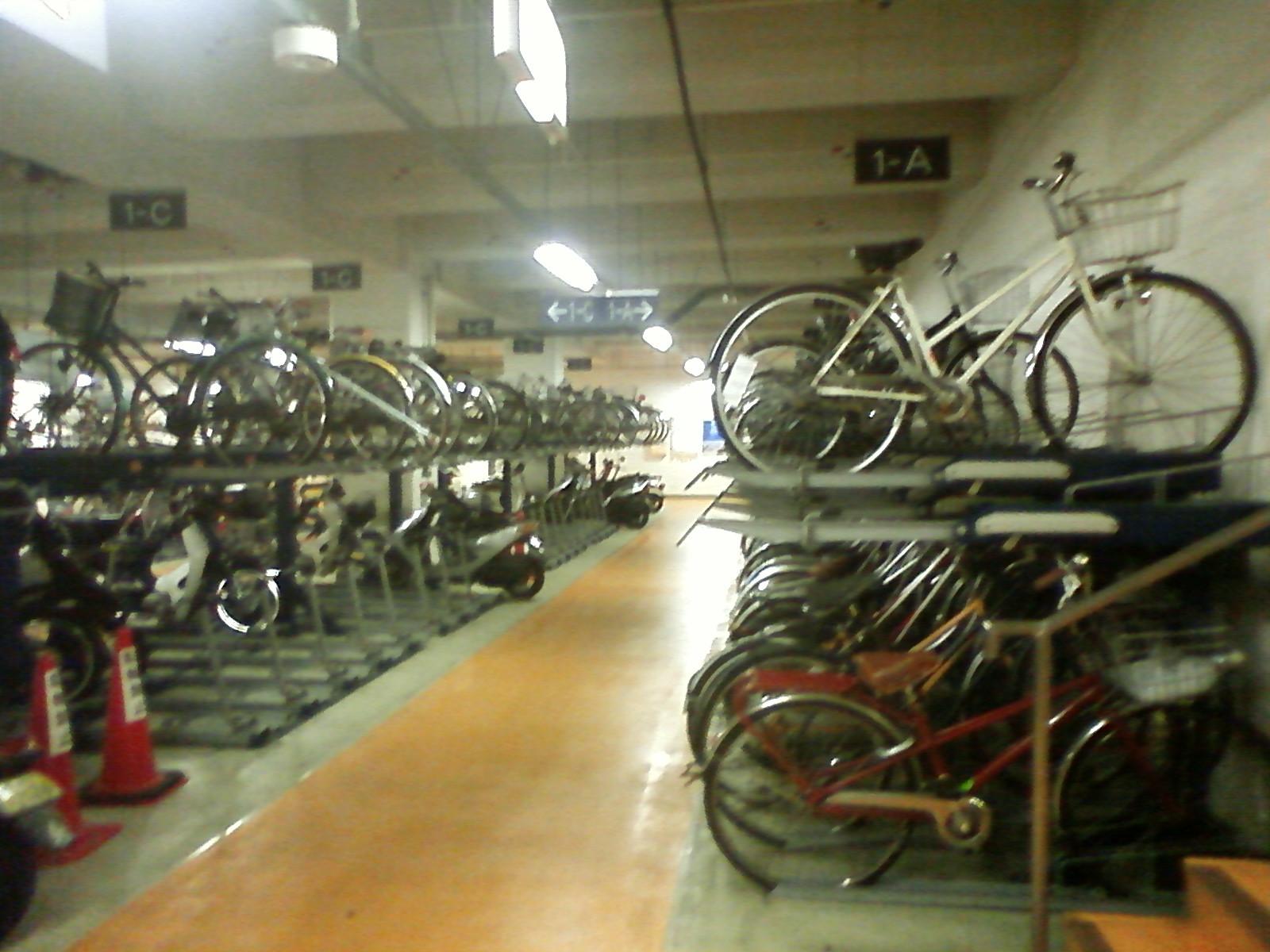 パークDoのバイク駐車場