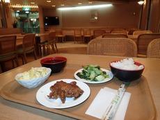 晩は500円定食