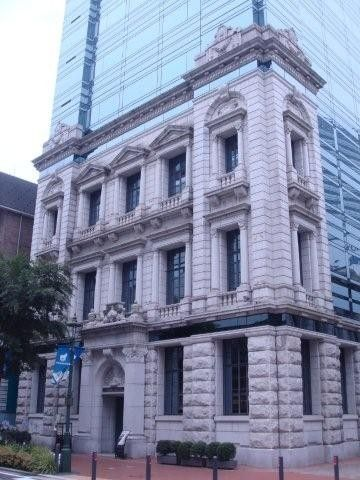 洋館@横浜 vol.2 日本興亜馬車道ビル(旧川崎銀行横浜支店 ...