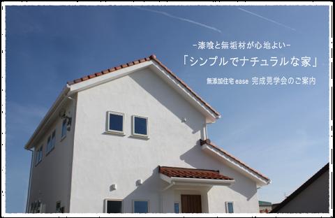 漆喰と無垢材が心地よい シンプルでナチュラルな家 完成見学会開催